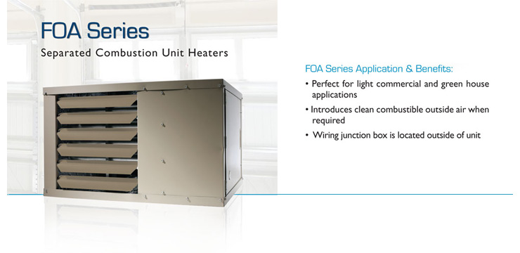 adp unit heater installation manual